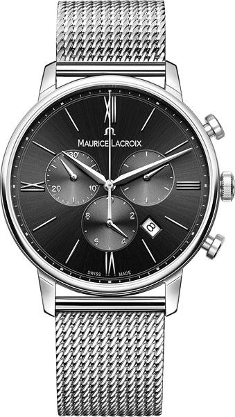 Мужские часы Maurice Lacroix EL1098-SS002-310-1 maurice lacroix часы maurice lacroix pt6158 ss002 73e коллекция pontos