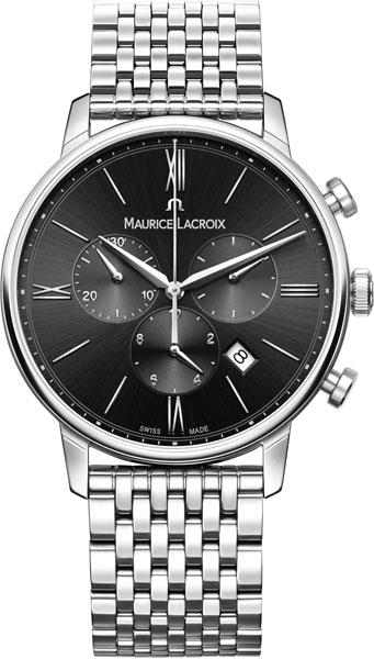 Мужские часы Maurice Lacroix EL1098-SS002-310-2 maurice lacroix часы maurice lacroix pt6158 ss002 73e коллекция pontos