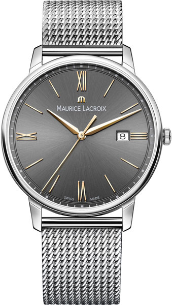 Мужские часы Maurice Lacroix EL1118-SS002-311-1 maurice lacroix pontos pt6168 ss002 130