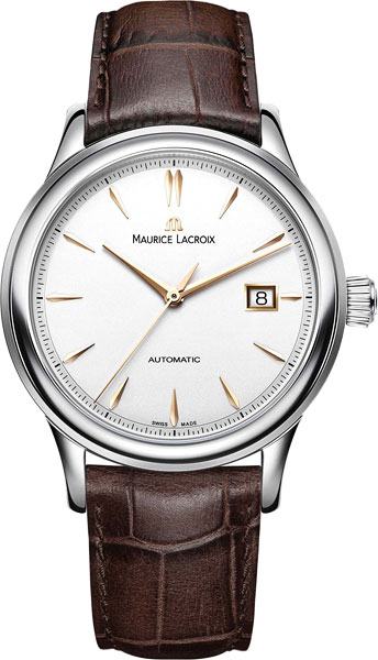 Мужские часы Maurice Lacroix LC6098-SS001-132-2 maurice lacroix masterpiece mp6707 ss001 112