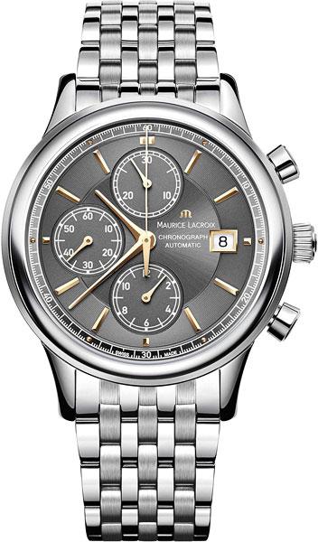 Мужские часы Maurice Lacroix LC6158-SS002-330-1 maurice lacroix les classiques lc6158 ss001 330 1