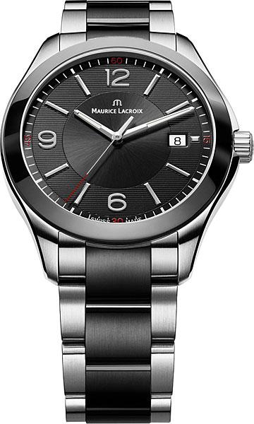 Фото - Мужские часы Maurice Lacroix MI1018-SS002-331 бензиновая виброплита калибр бвп 13 5500в