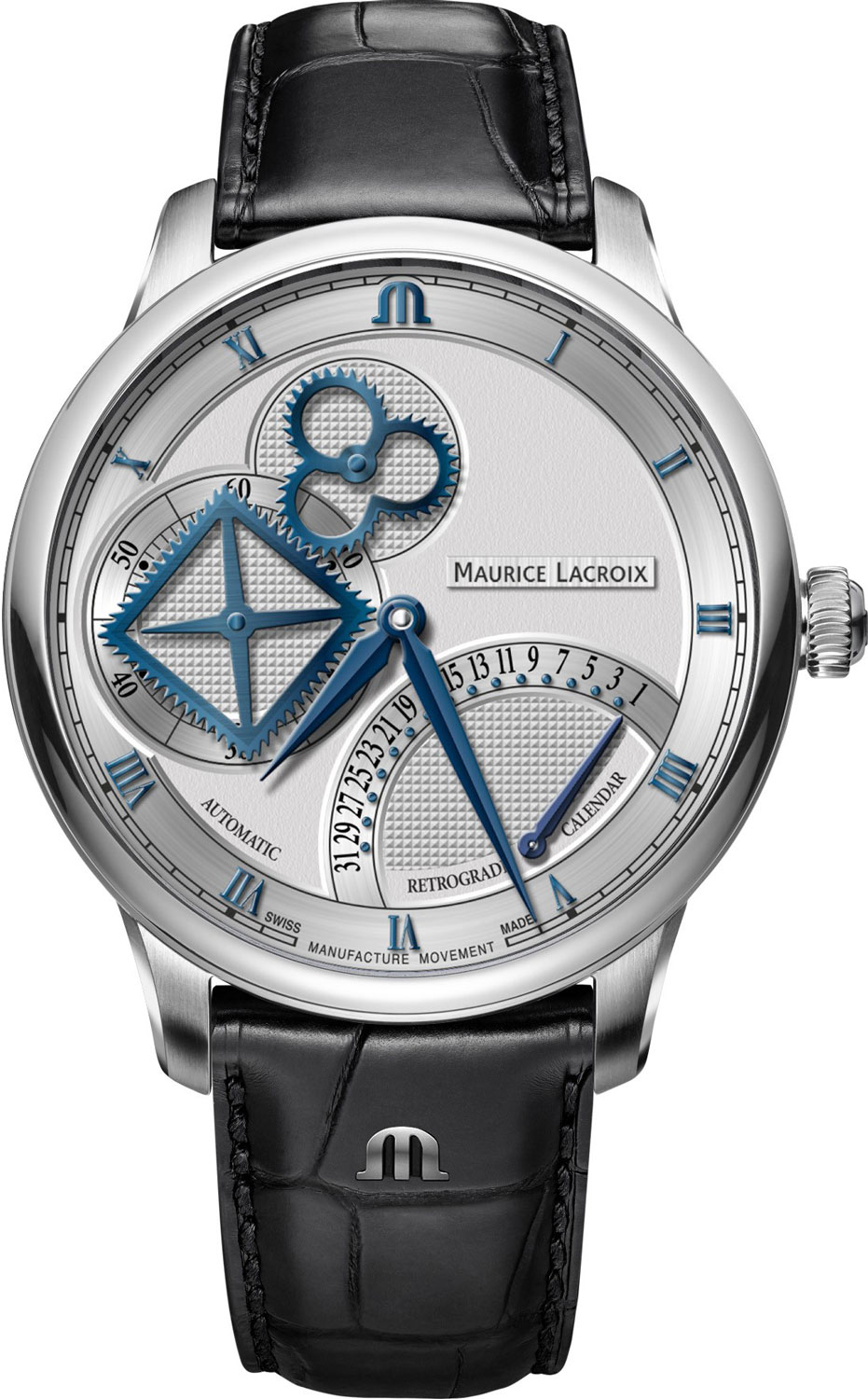 Мужские часы Maurice Lacroix MP6058-SS001-110-1 maurice lacroix fa1004 pvp13 110 1