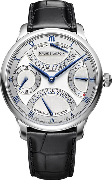 Мужские швейцарские механические наручные часы Maurice Lacroix MP6578-SS001-131-1