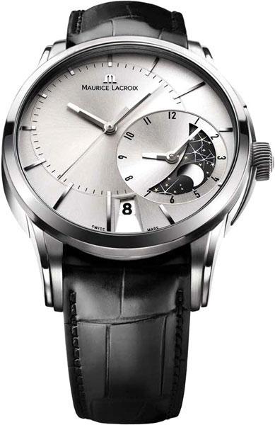 цена Мужские часы Maurice Lacroix PT6118-SS001-131 онлайн в 2017 году