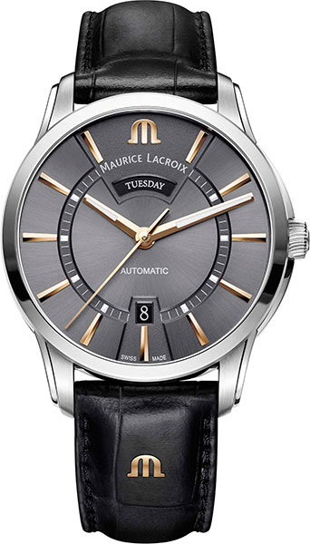 Мужские часы Maurice Lacroix PT6358-SS001-331-1 maurice lacroix masterpiece mp6707 ss001 112