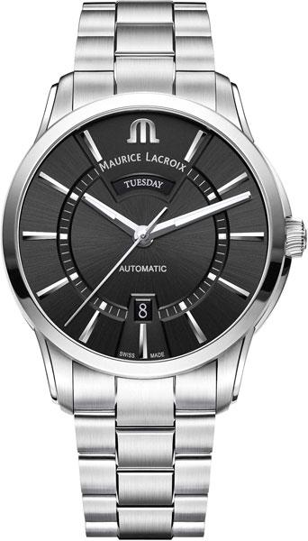 Мужские часы Maurice Lacroix PT6358-SS002-330-1 женские часы maurice lacroix ai1004 ss002 330 1
