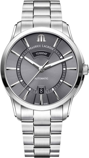 цена Мужские часы Maurice Lacroix PT6358-SS002-332-1 онлайн в 2017 году
