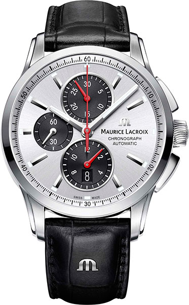 цена  Мужские часы Maurice Lacroix PT6388-SS001-131-1  онлайн в 2017 году