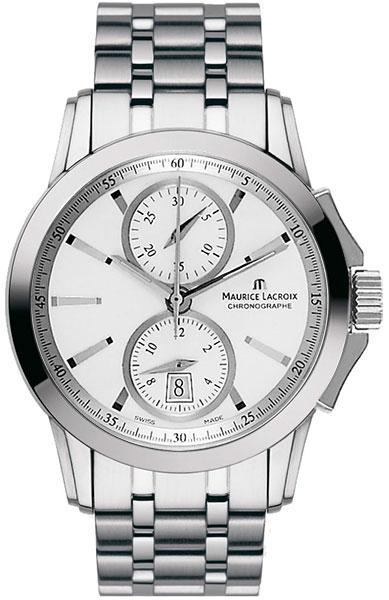 Мужские часы Maurice Lacroix PT7538-SS002-130 мужские часы maurice lacroix ai1018 ss002 131 1