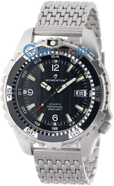 Мужские часы Momentum 1M-DV06BS0 momentum часы momentum 1m dv62ws1w коллекция deep 6