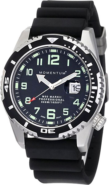 Мужские часы Momentum 1M-DV52B1B momentum часы momentum 1m dv52b1b коллекция m50 mark ii
