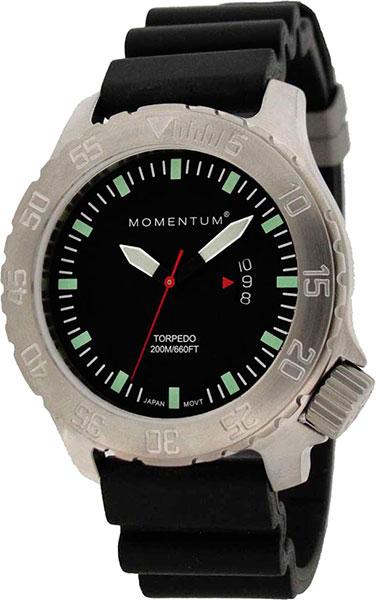 Мужские часы Momentum 1M-DV74BS1B momentum часы momentum 1m dv74bs1b коллекция torpedo