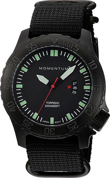 Мужские часы Momentum 1M-DV76B7B momentum часы momentum 1m dv76b7b коллекция torpedo