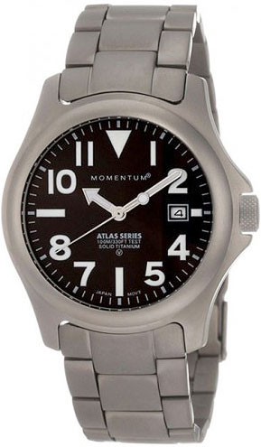 Мужские часы Momentum 1M-SP00BS0 momentum часы momentum 1m sp00bs0 коллекция atlas ti