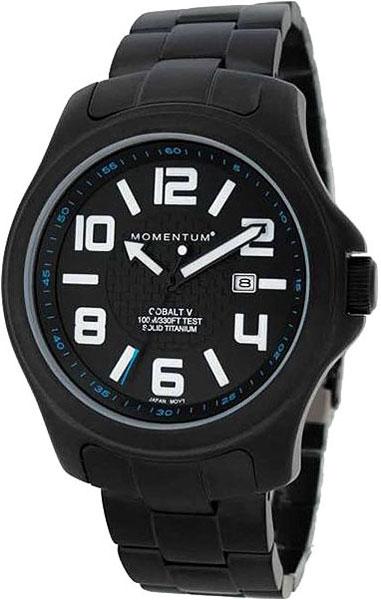 Мужские часы Momentum 1M-SP06BS0 momentum часы momentum 1m sp06bs0 коллекция cobalt v