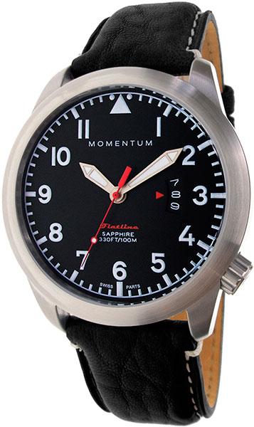 Мужские часы Momentum 1M-SP18BS2B momentum часы momentum 1m sp18bs2b коллекция flatline