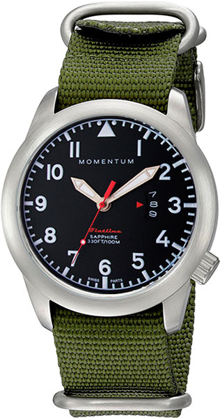 Мужские часы Momentum 1M-SP18BS7G momentum часы momentum 1m sp18bs7g коллекция flatline