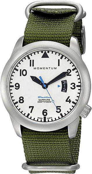 Мужские часы Momentum 1M-SP18LS7G momentum часы momentum 1m sp18ls7g коллекция flatline
