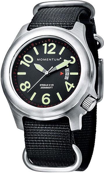 Мужские часы Momentum 1M-SP74BS7B momentum часы momentum 1m sp74bs7b коллекция steelix