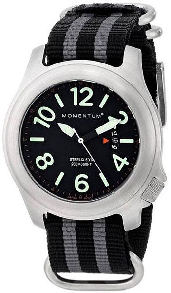 Мужские часы Momentum 1M-SP74BS7S momentum часы momentum 1m sp17ps0 коллекция heatwave