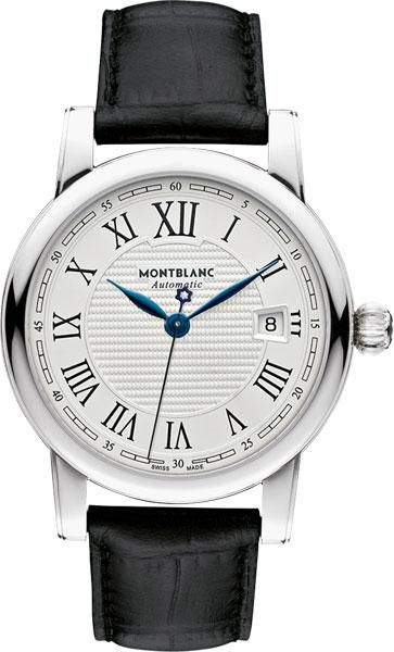 Швейцарские механические наручные часы Montblanc MB107114