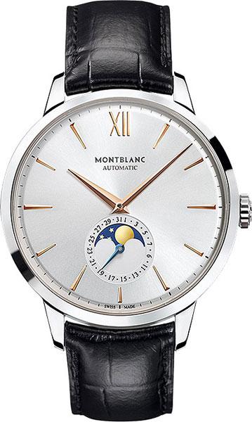 Мужские швейцарские механические наручные часы Montblanc MB111620