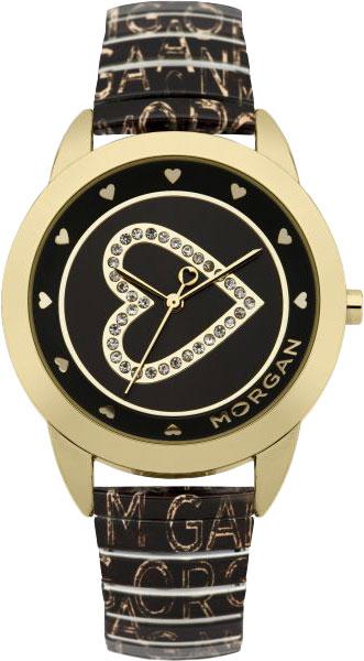 Женские часы Morgan M1166G джемпер morgan morgan mo012ewvae76