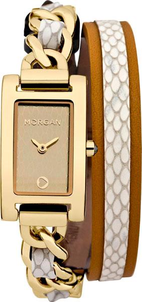 Женские часы Morgan M1173WG ремешок цепочка john richmond ремешок цепочка