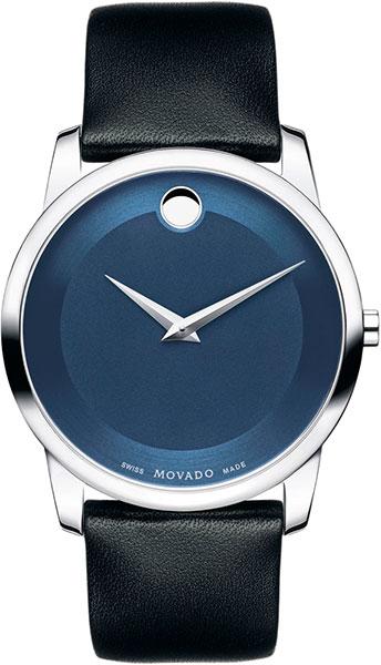 Мужские часы Movado 0606610-m movado museum classic 0606503