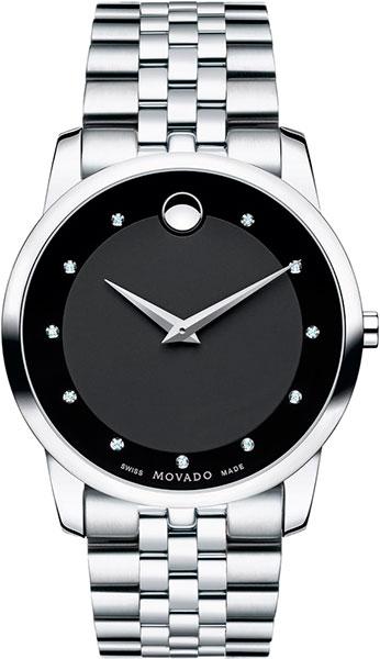 Мужские часы Movado 0606878-m movado museum classic 0606878