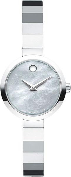 Женские часы Movado 0607110-m movado museum classic 0606503