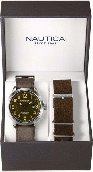 цена  Мужские часы Nautica NAI12525G  онлайн в 2017 году