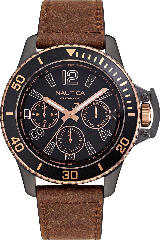 Мужские часы в коллекции Analog Мужские часы Nautica NAPBSF918 фото