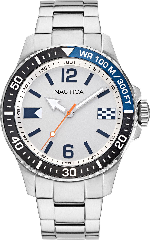 Фото - Мужские часы Nautica NAPFRB921 наручные часы nautica napadr004