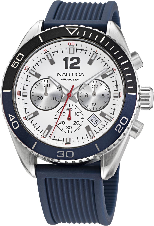 Фото - Мужские часы Nautica NAPKBF017 мужские часы nautica napfrb923