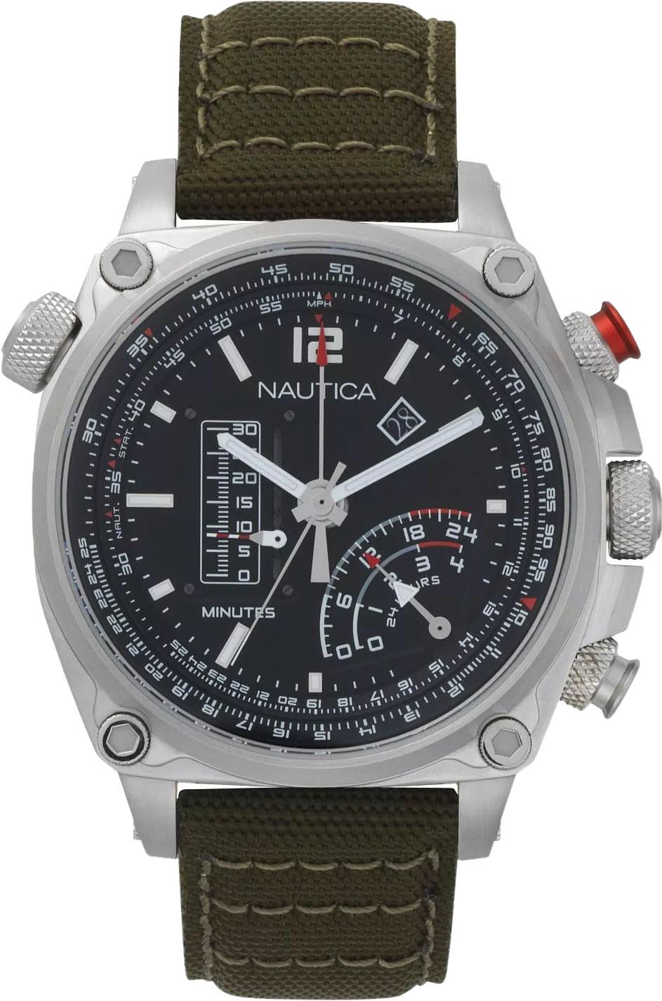 Мужские часы Nautica NAPMLR001 все цены
