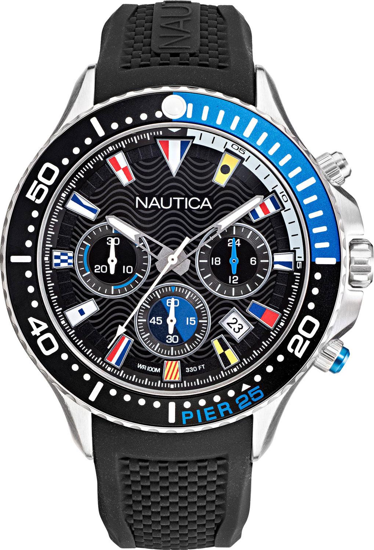 Фото - Мужские часы Nautica NAPP25F09 наручные часы nautica napadr004