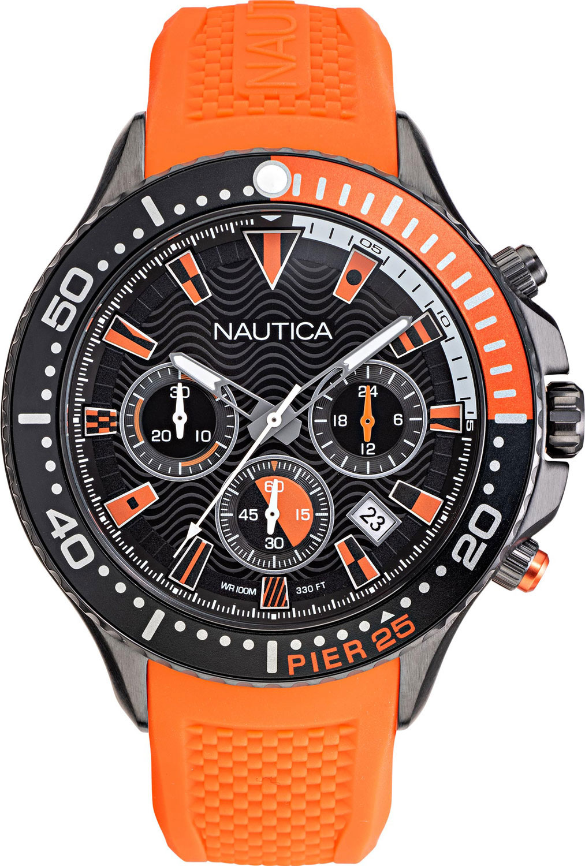 Фото - Мужские часы Nautica NAPP25F10 наручные часы nautica napadr004