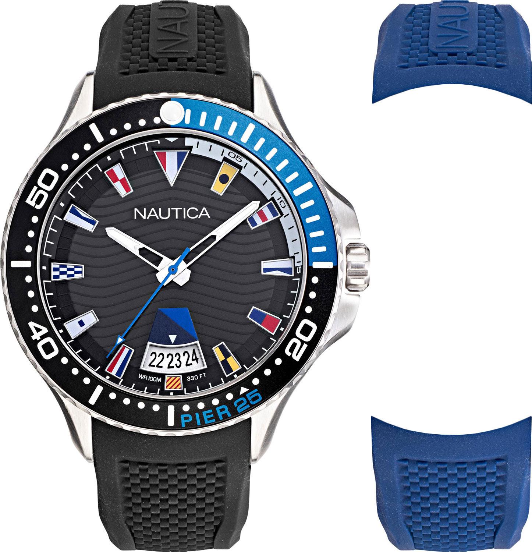 Фото - Мужские часы Nautica NAPP25F11 мужские часы nautica napfrb923