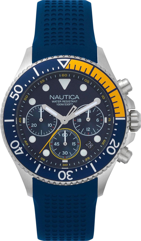Мужские часы в коллекции Chrono Мужские часы Nautica NAPWPC002 фото