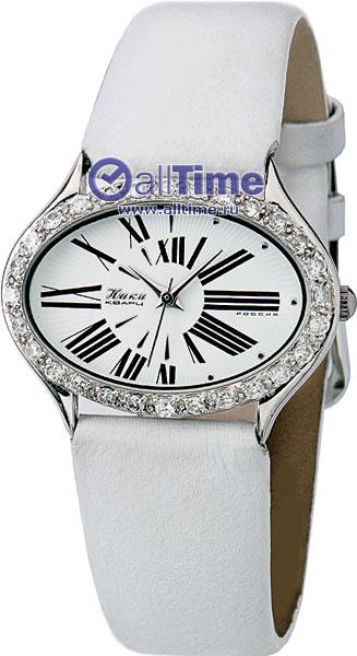 Женские наручные золотые часы Ника серебряные 900520_4_3WH