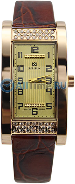 Купить Наручные часы 1059.2.1.42  Женские наручные золотые часы в коллекции Гармония Ника