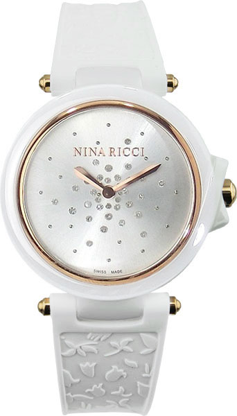 Женские часы Nina Ricci NR-N068003SM запонки nina ricci nr 09082 0
