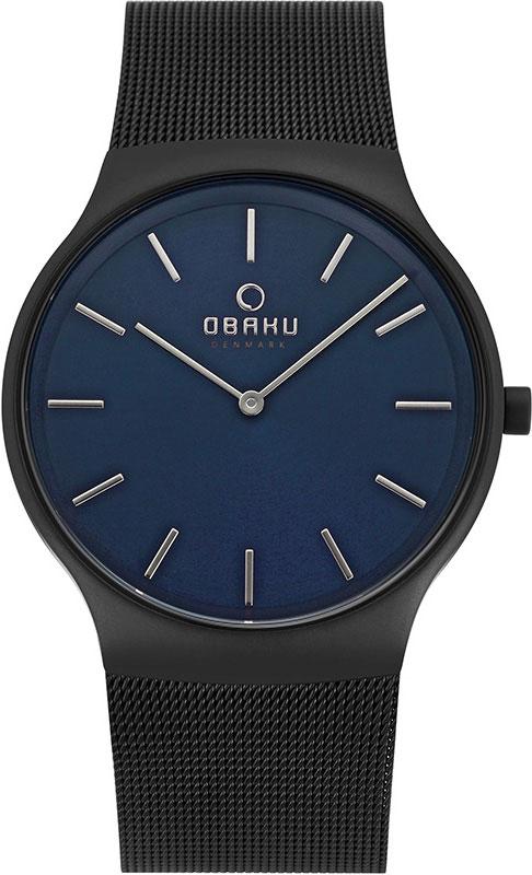 Мужские часы Obaku V178GXBLMB