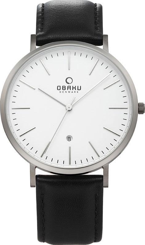 Мужские часы Obaku V215GDTIRB