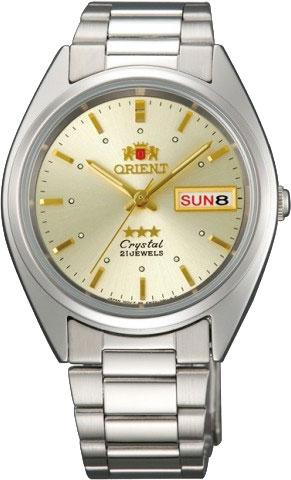 Японские мужские часы в коллекции 3 Stars Crystal 21 Jewels Мужские часы Orient AB00005C фото