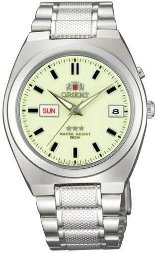 Мужские часы Orient EM5L00QR windproof 1300 c dual flame lockable butane jet lighter torch w base holder grey black