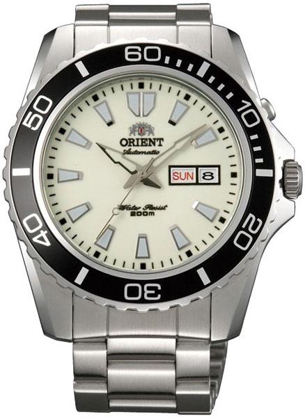 Купить Наручные часы EM75005R  Мужские японские наручные часы в коллекции Diver Orient