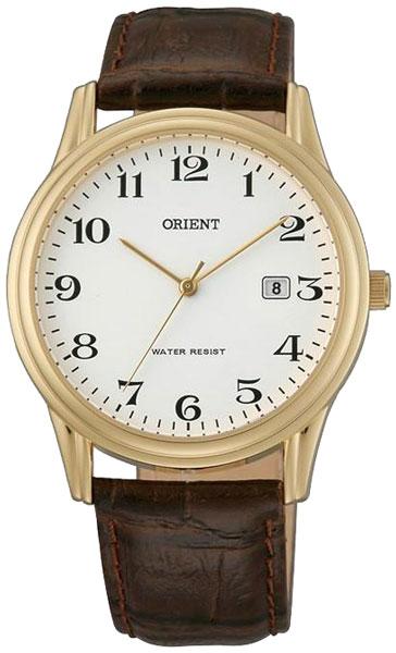 Купить Наручные часы UNA0004W  Мужские японские наручные часы в коллекции Dressy Orient